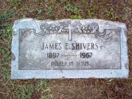 SHIVERS, JAMES E - Crittenden County, Arkansas | JAMES E SHIVERS - Arkansas Gravestone Photos