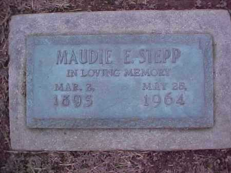 STEPP, MAUDIE E - Crittenden County, Arkansas | MAUDIE E STEPP - Arkansas Gravestone Photos