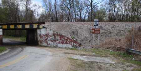 *UNDER THE RR TRACK BRIDGE, WAPANOCCA N.W.R. - Crittenden County, Arkansas | WAPANOCCA N.W.R. *UNDER THE RR TRACK BRIDGE - Arkansas Gravestone Photos