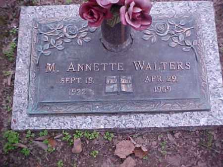 WALTERS, M ANNETTE - Crittenden County, Arkansas | M ANNETTE WALTERS - Arkansas Gravestone Photos