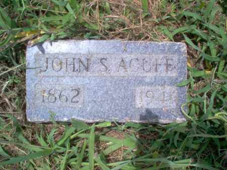 ACUFF, JOHN S - Cross County, Arkansas | JOHN S ACUFF - Arkansas Gravestone Photos