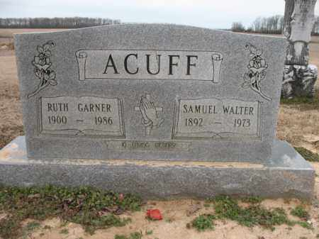 ACUFF, RUTH - Cross County, Arkansas | RUTH ACUFF - Arkansas Gravestone Photos
