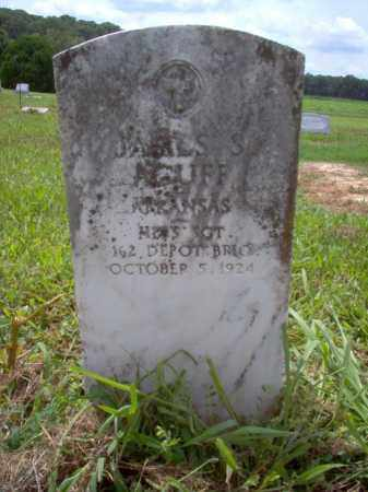 ACUFF (VETERAN), JAMES S - Cross County, Arkansas | JAMES S ACUFF (VETERAN) - Arkansas Gravestone Photos