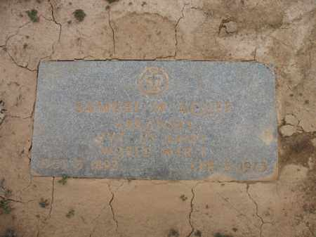 ACUFF (VETERAN WWI), SAMUEL WALTER - Cross County, Arkansas   SAMUEL WALTER ACUFF (VETERAN WWI) - Arkansas Gravestone Photos