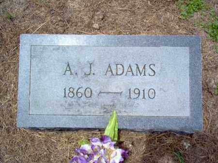 ADAMS, A J - Cross County, Arkansas | A J ADAMS - Arkansas Gravestone Photos