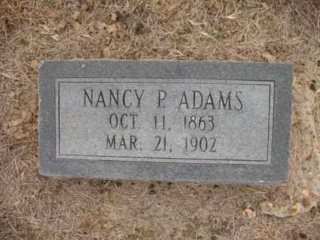 ADAMS, NANCY P - Cross County, Arkansas | NANCY P ADAMS - Arkansas Gravestone Photos