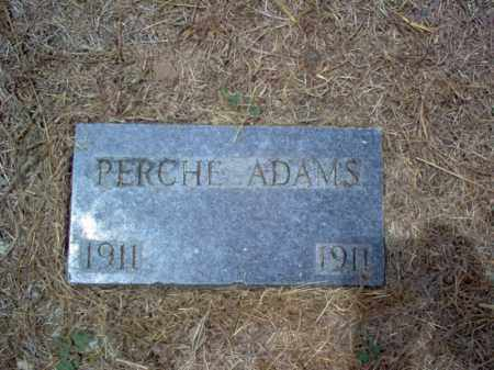 ADAMS, PERCHE - Cross County, Arkansas | PERCHE ADAMS - Arkansas Gravestone Photos