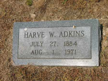ADKINS, HARVE W - Cross County, Arkansas | HARVE W ADKINS - Arkansas Gravestone Photos