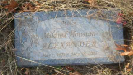 ALEXANDER, MILDRED - Cross County, Arkansas | MILDRED ALEXANDER - Arkansas Gravestone Photos