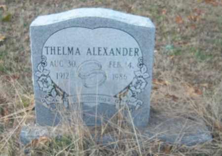 ALEXANDER, THELMA - Cross County, Arkansas | THELMA ALEXANDER - Arkansas Gravestone Photos