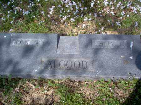ALGOOD, JOHN W - Cross County, Arkansas | JOHN W ALGOOD - Arkansas Gravestone Photos