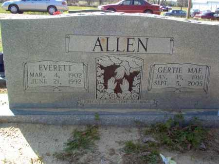ALLEN, EVERETT - Cross County, Arkansas | EVERETT ALLEN - Arkansas Gravestone Photos