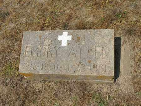 ALLEN, EMORY - Cross County, Arkansas | EMORY ALLEN - Arkansas Gravestone Photos
