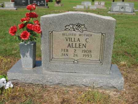 ALLEN, VILLA C - Cross County, Arkansas | VILLA C ALLEN - Arkansas Gravestone Photos