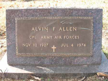 ALLEN (VETERAN WWII), ALVIN FRANKLIN - Cross County, Arkansas | ALVIN FRANKLIN ALLEN (VETERAN WWII) - Arkansas Gravestone Photos