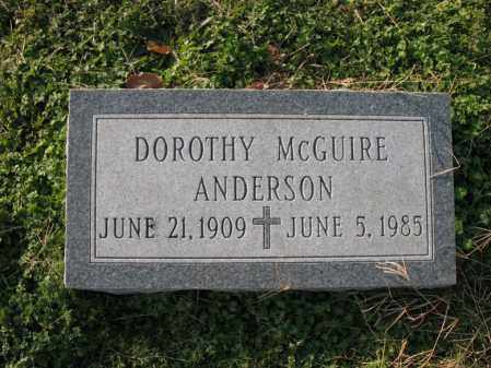 ANDERSON, DOROTHY - Cross County, Arkansas | DOROTHY ANDERSON - Arkansas Gravestone Photos