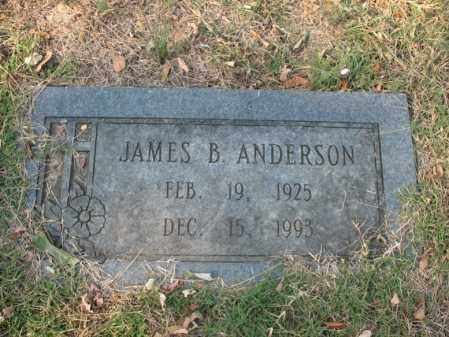 ANDERSON, JAMES B - Cross County, Arkansas | JAMES B ANDERSON - Arkansas Gravestone Photos