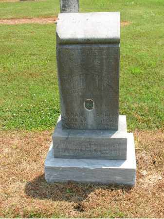 ARCHER, SARAH H - Cross County, Arkansas | SARAH H ARCHER - Arkansas Gravestone Photos