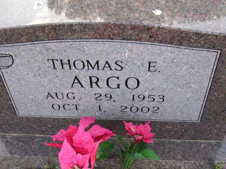 ARGO, THOMAS E - Cross County, Arkansas | THOMAS E ARGO - Arkansas Gravestone Photos