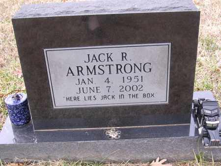 ARMSTRONG, JACK R - Cross County, Arkansas | JACK R ARMSTRONG - Arkansas Gravestone Photos