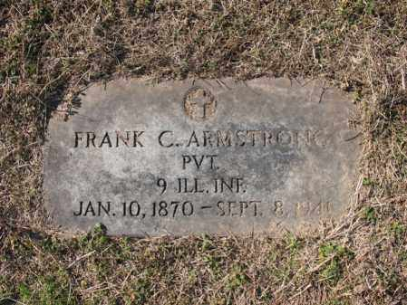 ARMSTRONG (VETERAN), FRANK C - Cross County, Arkansas | FRANK C ARMSTRONG (VETERAN) - Arkansas Gravestone Photos