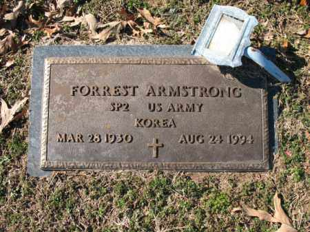 ARMSTRONG (VETERAN KOR), FORREST - Cross County, Arkansas | FORREST ARMSTRONG (VETERAN KOR) - Arkansas Gravestone Photos