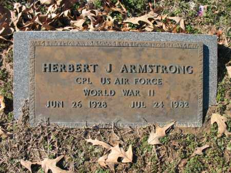 ARMSTRONG (VETERAN WWII), HERBERT J - Cross County, Arkansas | HERBERT J ARMSTRONG (VETERAN WWII) - Arkansas Gravestone Photos