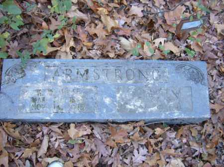 "ARMSTRONG, W.W. ""PETE"" - Cross County, Arkansas 