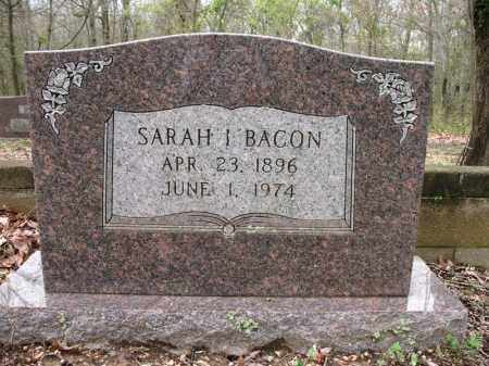 BACON, SARAH I. - Cross County, Arkansas | SARAH I. BACON - Arkansas Gravestone Photos