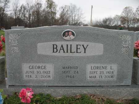 BAILEY, LORENE L - Cross County, Arkansas | LORENE L BAILEY - Arkansas Gravestone Photos