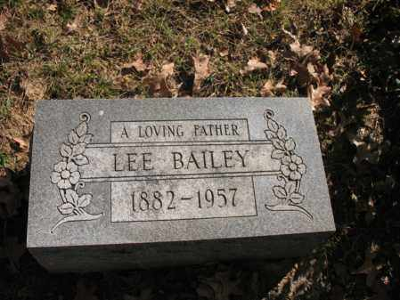 BAILEY, LEE - Cross County, Arkansas | LEE BAILEY - Arkansas Gravestone Photos