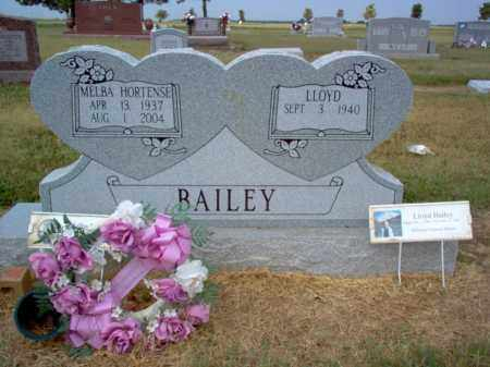 BAILEY, MELBA - Cross County, Arkansas | MELBA BAILEY - Arkansas Gravestone Photos