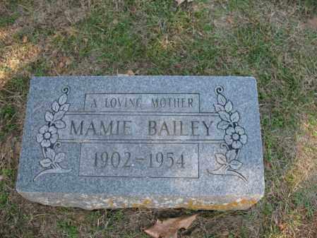 BAILEY, MAMIE - Cross County, Arkansas | MAMIE BAILEY - Arkansas Gravestone Photos