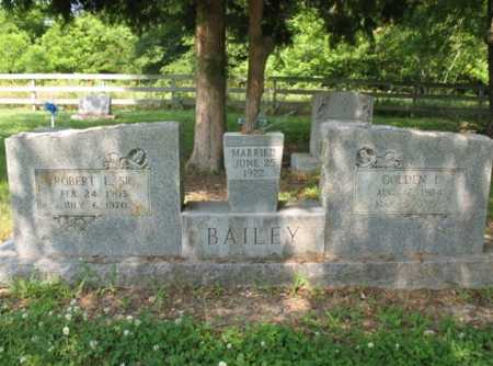 BAILEY, ROBERT L - Cross County, Arkansas | ROBERT L BAILEY - Arkansas Gravestone Photos
