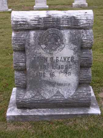 BAKER, JOHN O - Cross County, Arkansas | JOHN O BAKER - Arkansas Gravestone Photos