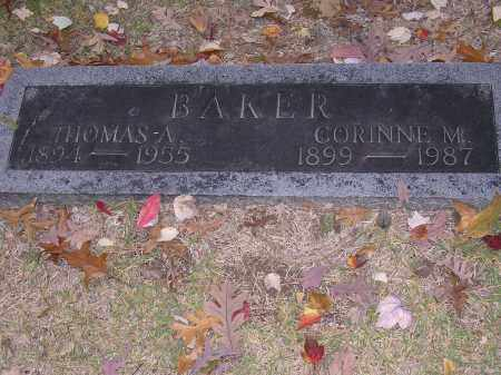 BAKER, THOMAS A - Cross County, Arkansas | THOMAS A BAKER - Arkansas Gravestone Photos