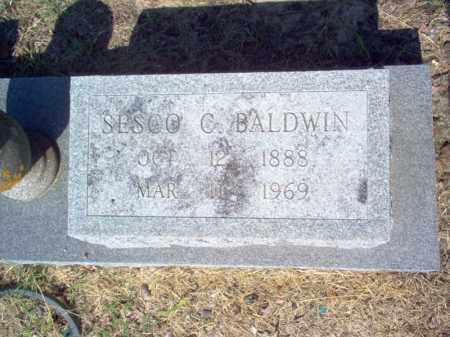 BALDWIN (2), SESCO C. - Cross County, Arkansas   SESCO C. BALDWIN (2) - Arkansas Gravestone Photos