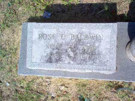BALDWIN  (2), ROSE O - Cross County, Arkansas | ROSE O BALDWIN  (2) - Arkansas Gravestone Photos
