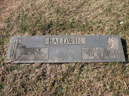 BALDWIN, LULA M - Cross County, Arkansas | LULA M BALDWIN - Arkansas Gravestone Photos