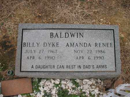 BALDWIN, BILLY DYKE - Cross County, Arkansas | BILLY DYKE BALDWIN - Arkansas Gravestone Photos