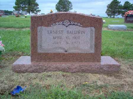 BALDWIN, ERNEST - Cross County, Arkansas | ERNEST BALDWIN - Arkansas Gravestone Photos