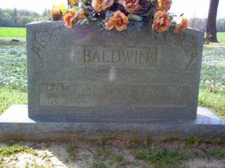 BALDWIN, GEORGE W - Cross County, Arkansas | GEORGE W BALDWIN - Arkansas Gravestone Photos