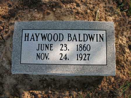 BALDWIN, HAYWOOD - Cross County, Arkansas | HAYWOOD BALDWIN - Arkansas Gravestone Photos