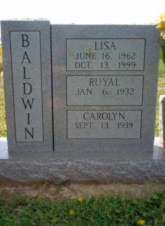 BALDWIN, LISA - Cross County, Arkansas | LISA BALDWIN - Arkansas Gravestone Photos