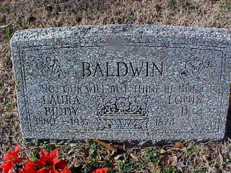 BIDDY BALDWIN, LUARA - Cross County, Arkansas | LUARA BIDDY BALDWIN - Arkansas Gravestone Photos