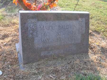 BALDWIN, MARY - Cross County, Arkansas | MARY BALDWIN - Arkansas Gravestone Photos