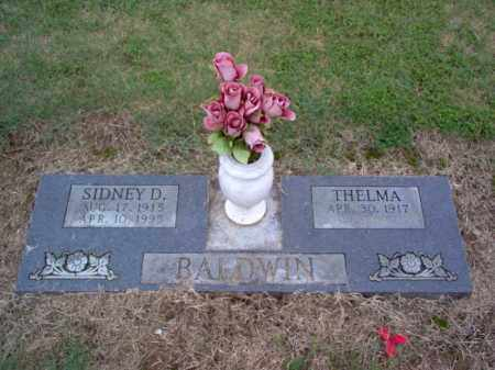 BALDWIN, SYDNEY D - Cross County, Arkansas | SYDNEY D BALDWIN - Arkansas Gravestone Photos