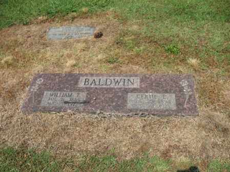 BALDWIN, GERTIE E - Cross County, Arkansas | GERTIE E BALDWIN - Arkansas Gravestone Photos
