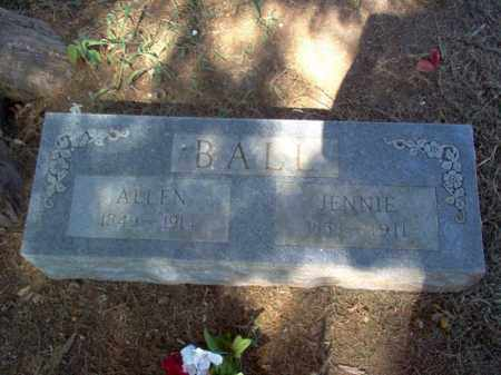 BALL, ALLEN - Cross County, Arkansas | ALLEN BALL - Arkansas Gravestone Photos