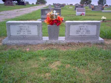 BALL, CHARLES L - Cross County, Arkansas | CHARLES L BALL - Arkansas Gravestone Photos